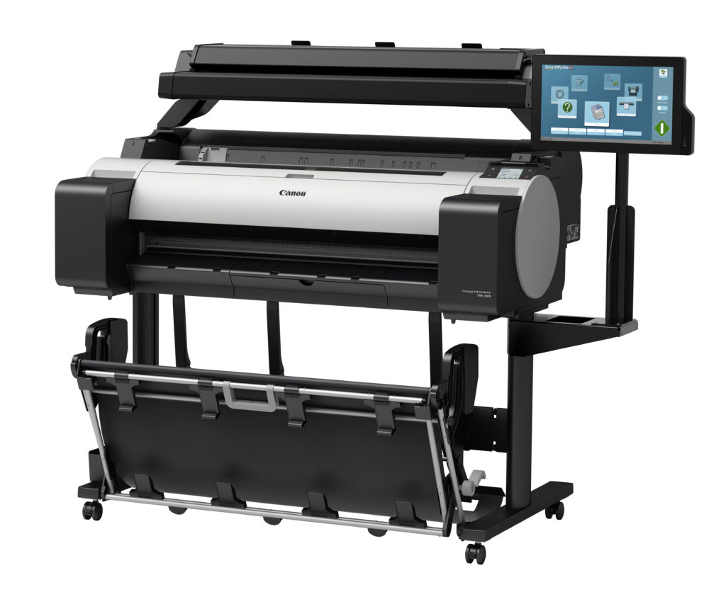 """Canon TM-305 MFP T36 36"""" Scan Copy Print System"""