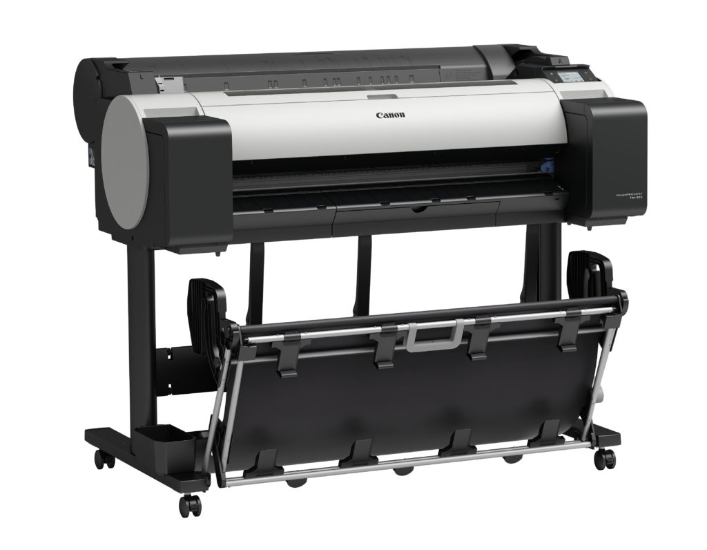 "Canon TM-305 36"" color printer plotter"